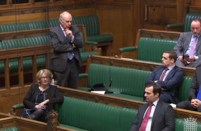 DEBATE: MP Ian Liddell-Grainger speaking in Parliament