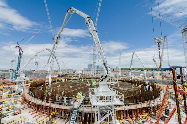 CONSTRUCTION: Thousands of workers are employed at Hinkley C