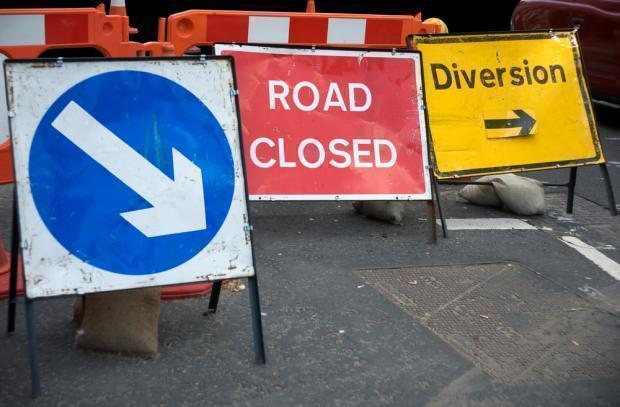 PROBLEMS: The roadworks were deemed to have broken the rules