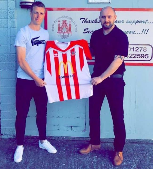 NEW SIGNING: Steve Murray and Dave Pearse, Bridgwater Town