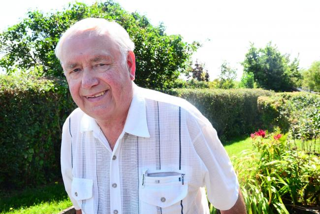 DEDICATION: Mervyn Winslade has given his time to numerous committees and causes over the years