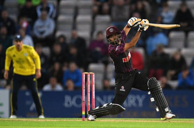 CLASS: Babar Azam was at it again for Somerset in the Vitality Blast. Pic: SCCC