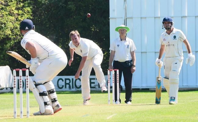 DELIVERY: Action from Taunton Deane versus Taunton last season (pic: Steve Richardson)
