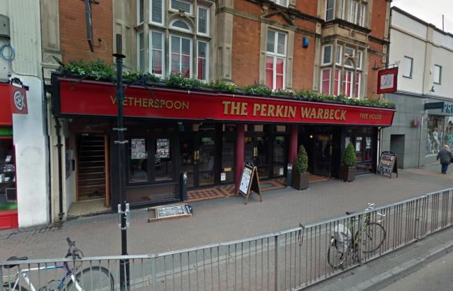 OFFER: At the Perkin Warbeck in Taunton. PICTURE: Google Street View