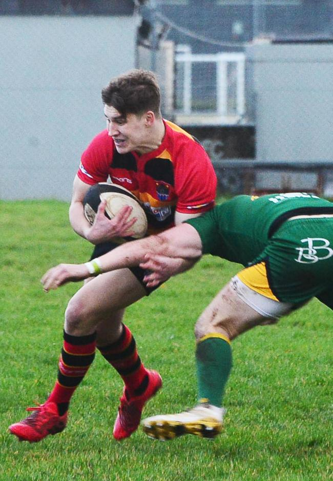 TOP DISPLAY: Tom Fournier d'Able, Bridgwater & Albion's man of the match against Thornbury