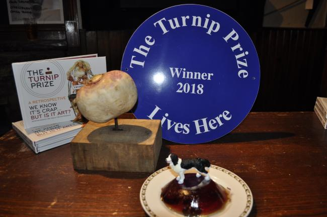 WINNER: The Turnip Prize and the winning entry