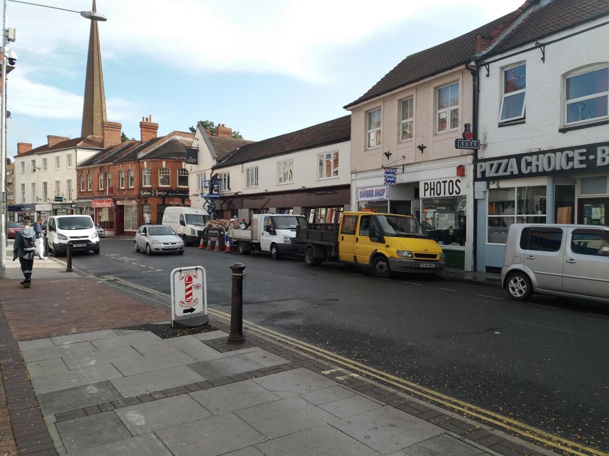 Contractors Parking Is A Nightmare For Trade Bridgwater