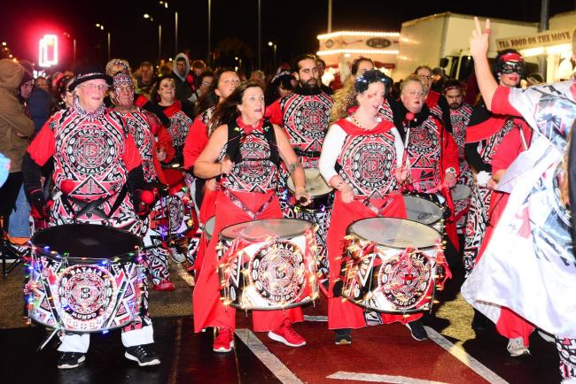 ENTERTAINMENT: The Bristol Batala Band