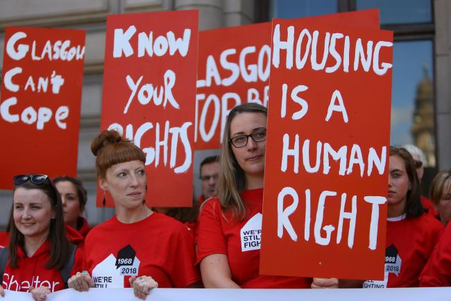 CAMPAIGN: Shelter is calling for housing to be at the top of the political agenda