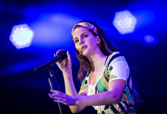 CONFIRMED: Lana Del Rey will be at Worthy Farm in June. PICTURE: Danny Lawson/PA Wire.