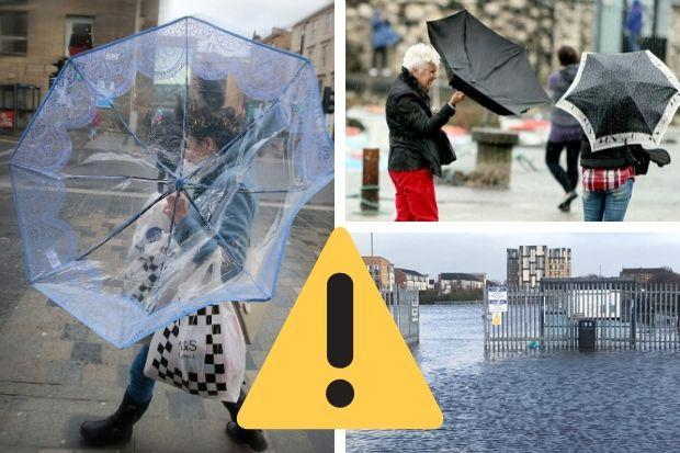 WARNING: Tips from Met Office as Storm Dennis rolls in