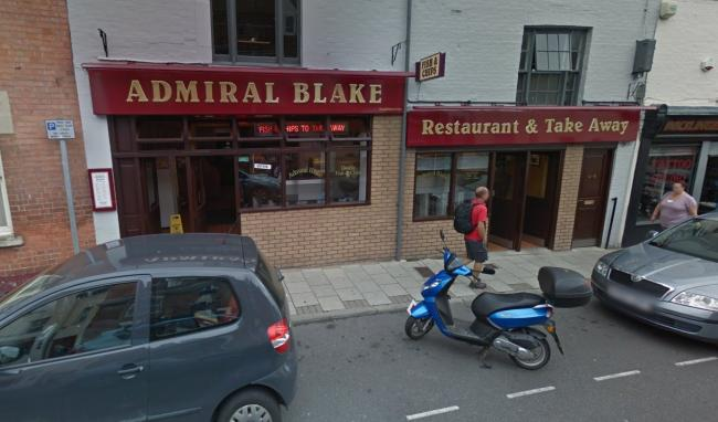 NEW OWNER: Admiral Blake Fish Bar in St Mary Street, Bridgwater
