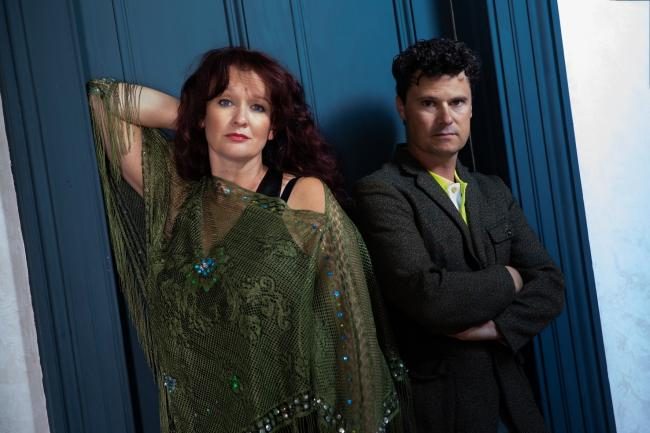 Kathryn Roberts and Sean Lakeman. Photo: Nikki Bidgood