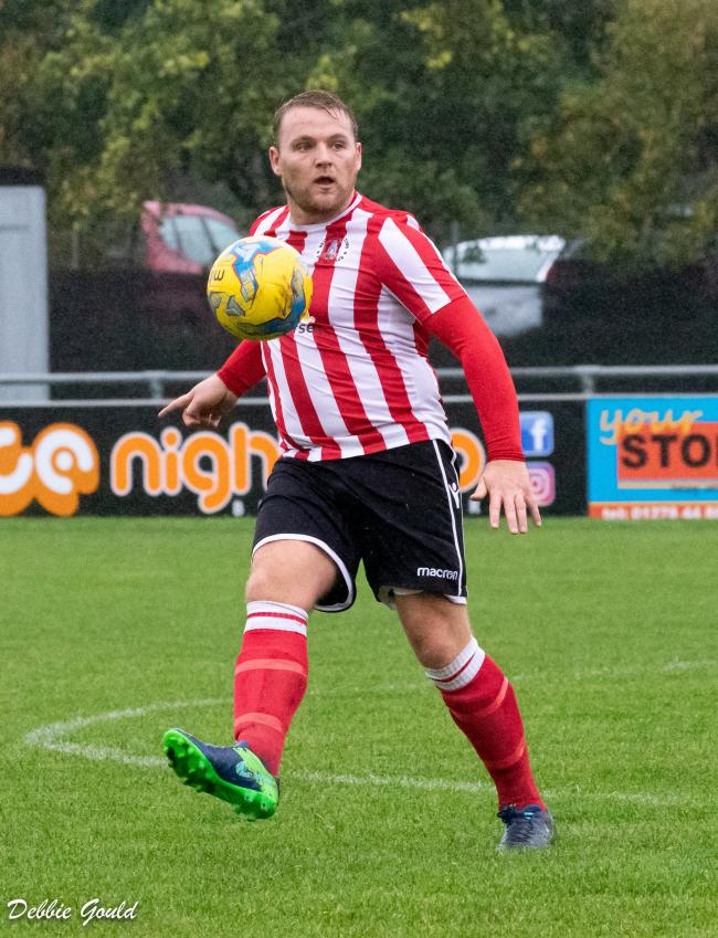 GRATEFUL: Tom Ellis has thanked Bridgwater Town's supporters. Pic: Debbie Gould