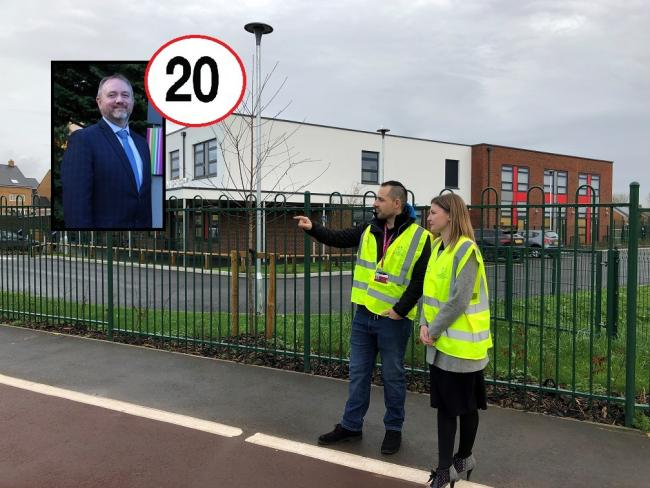 REACTION: Somerset headteacher response to SCC plans to install 20mph limits outside schools