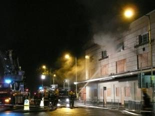 Classic Buildings flats fire