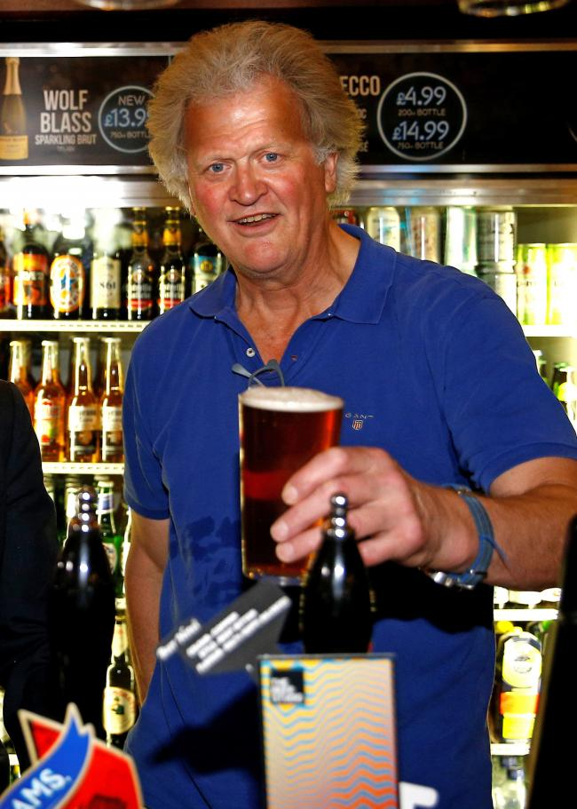 CONTROVERSY: Tim Martin,  founder of Wetherspoons