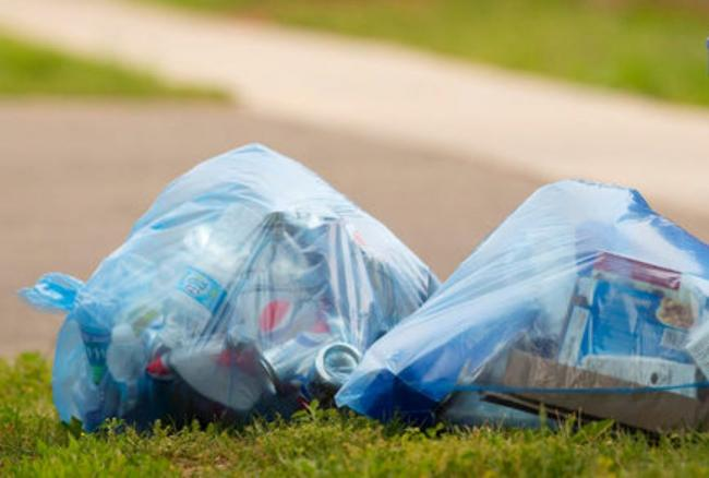 BLUE BAGS: More items will be collected for recycling under the new scheme in Somerset