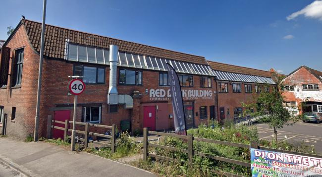 SUBJECT: The Red Brick Building in Glastonbury. PICTURE: Google Street View