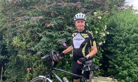 Steve Atkinson is planning to cycle 300 miles to raise money for homeless charities