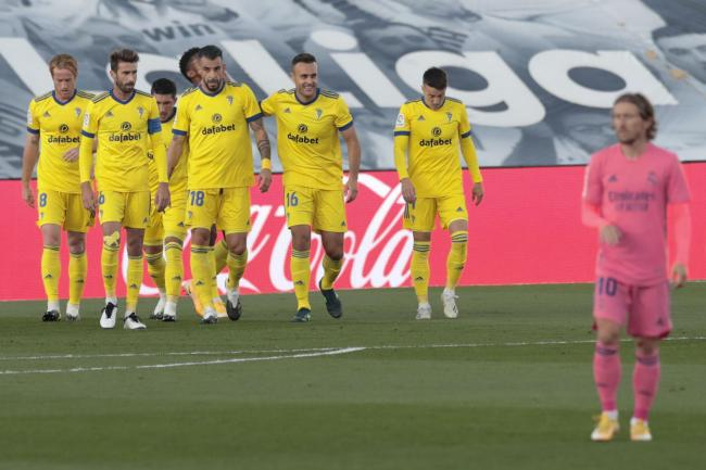 Real Madrid suffered their first LaLiga defeat as Cadiz pulled off a shock win at the Alfredo di Stefano stadium