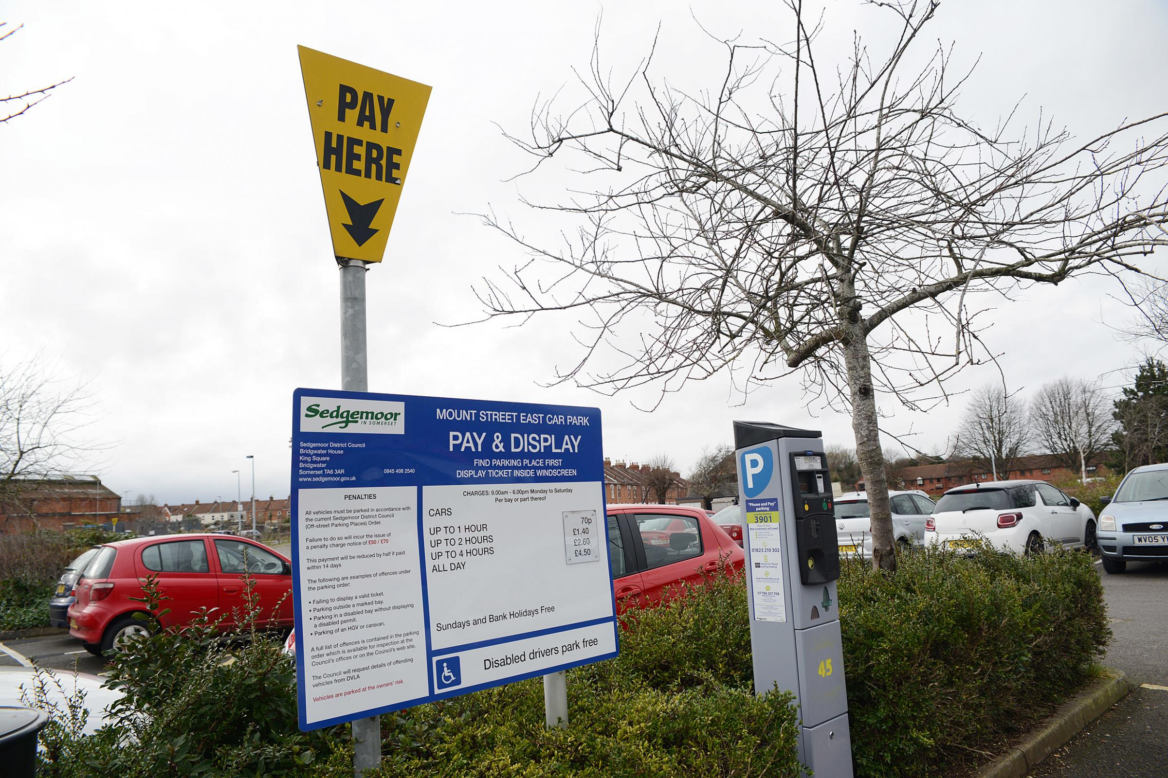 Free Parking At 18 Sedgemoor Car Parks This Christmas Sedgemoor Fm