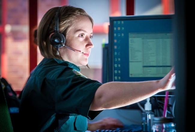 A South Western Ambulance Service call handler
