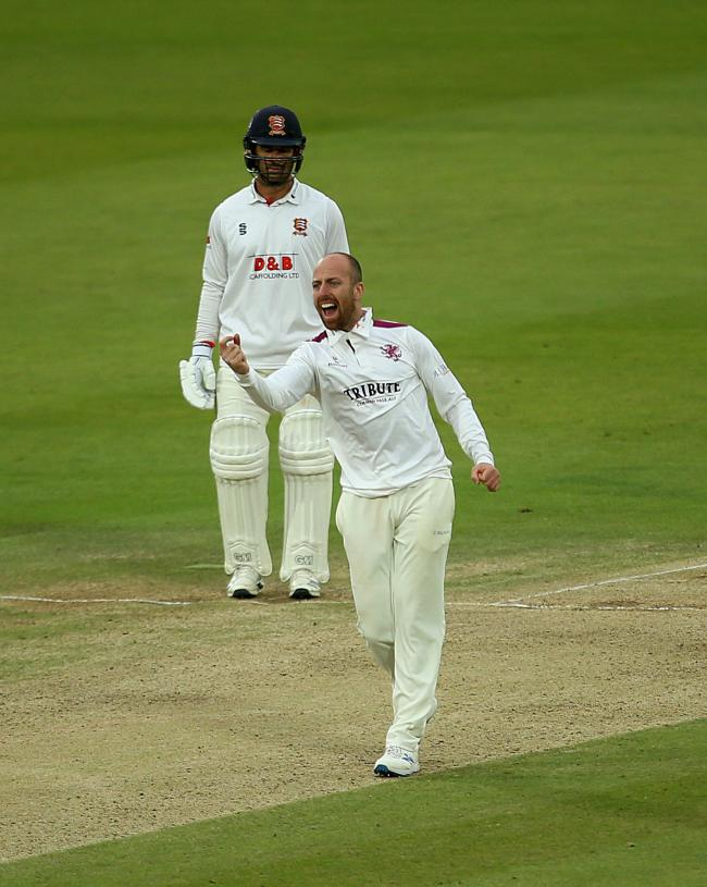 MAKING THE CUT: Somerset spin bowler Jack Leach (pic: PA Wire)