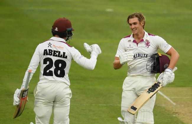 2021 VISION: Somerset's Tom Abell and Tom Lammonby (pic: SCCC)
