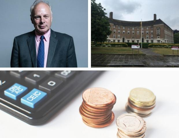 COVID GRANTS ROW: Bridgwater and West Somerset MP Ian Liddell-Grainger has accused Somerset County Council of diverting Covid grant funding to balance its books - a claim it denies
