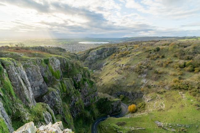 Cheddar Gorge, Somerset. Pic: Getty Images