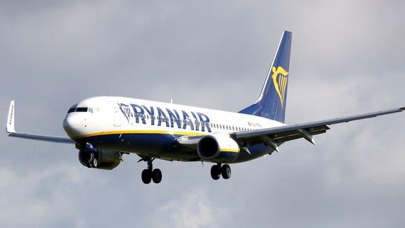 Ryanair advert received more than 2,300 complaints - here's what it said. (PA)