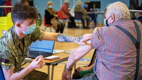 NHS urge over 70s yet to be vaccinated to book their jab now