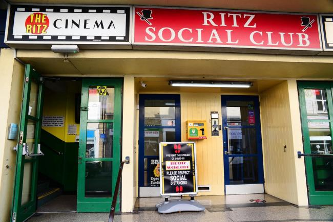 FUNDING: The Ritz, Burnham On Sea