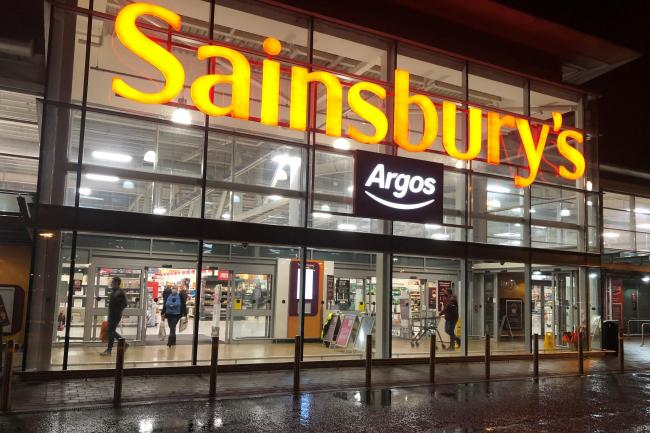 A Sainsburys and Argos store