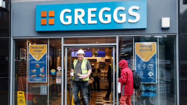 Greggs announce first loss in 36 years as a result of Covid pandemic. (PA)