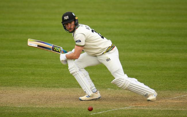 TOP PERFORMANCE: Gloucestershire batsman James Bracey (pic: SCCC)
