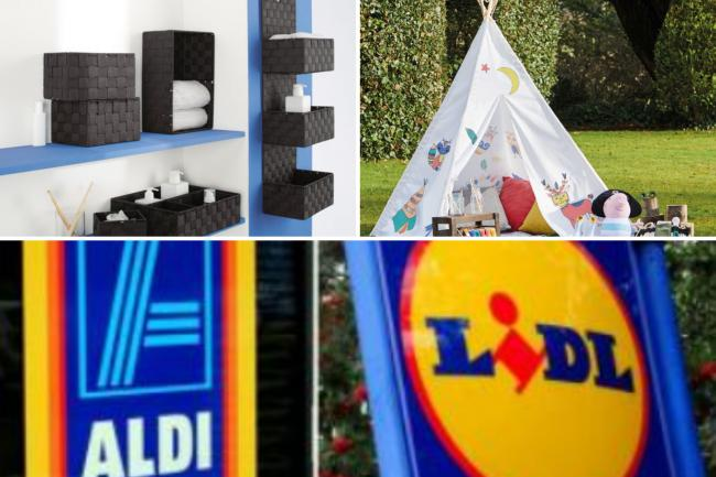 Lidl and Aldi middle aisles: Best deals available this weekend