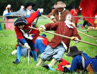 Battle of Sedgemoor re-enactment