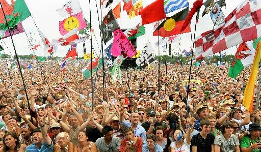 Bridgwater film-makers stream Glastonbury Festival talent footage