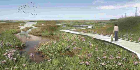How the habitat might look