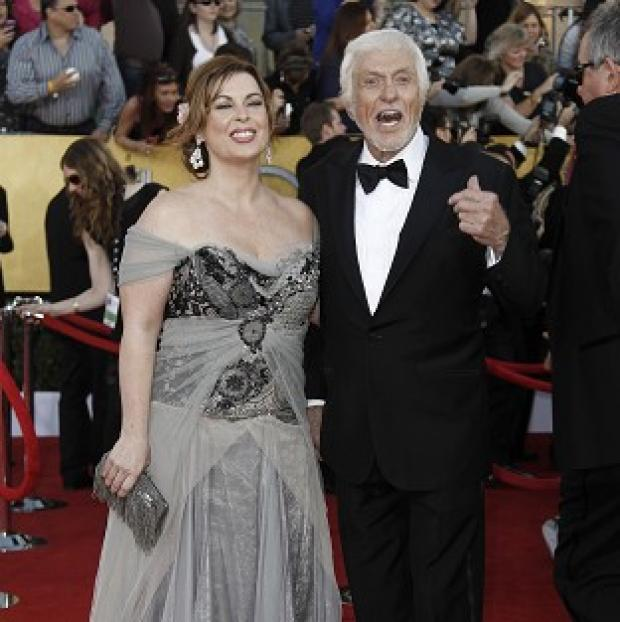 Dick Van Dyke and Arlene Silver at the 18th Annual Screen Actors Guild Awards in Los Angeles (AP/Matt Sayles)