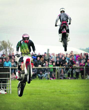 Motorcycle competition held at Spaxton's Crossmoor Farm