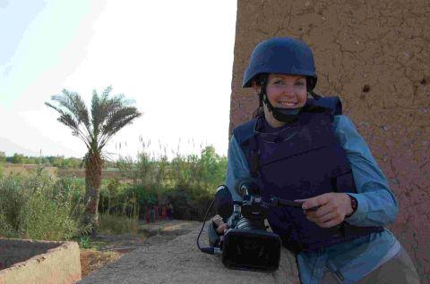 Charlotte Cross has toured Afghanistan five times