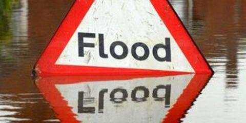Blocked drains lead to flooding in Sedgemoor