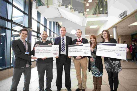 Bridgwater students rake in the cash