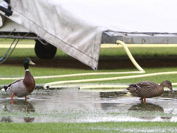 Cricket schedule wiped out by wet weather