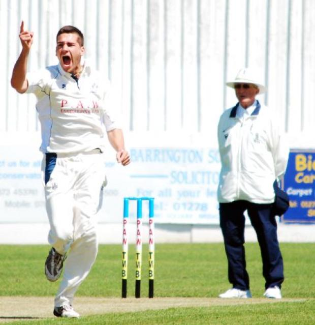 Bridgwater Mercury: Chris Skidmore's praises are being sung by skipper Mike Coles