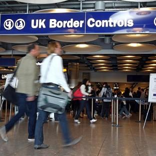 Immigration Minister Damian Green said risk-based security checks would not be a panacea to reducing airport queues