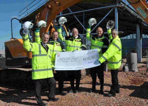 EDF's £2m gift to Bridgwater College